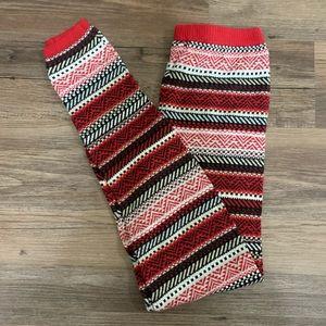 Mossimo Women's Patterned Soft Leggings Medium